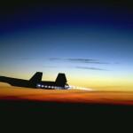 The world's fastest plane.