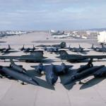 The SR-71 Blackbird, the fastest plane in the world.