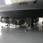 The Pratt & Whitney J58-P4 engine that powered the SR-71