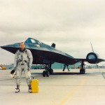 Bob in front of SR-71