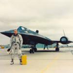 Bob in front of SR-71
