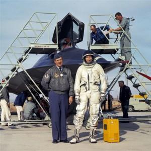 Lockheed Martin Aeronautics Company SR-71 Blackbird Pilot - Bob Gilliland Lockheed Martin Photo SR-71A 950 First Flight